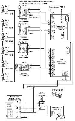 схема принципиальная вызывной панели svv-400